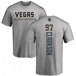 Men's David Clarkson Vegas Golden Knights Backer T-Shirt - Heathered Gray