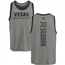 Men's Malcolm Subban Vegas Golden Knights Backer Tri-Blend Tank - Heathered Gray