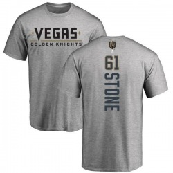 Men's Mark Stone Vegas Golden Knights Backer T-Shirt - Heathered Gray