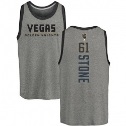 Men's Mark Stone Vegas Golden Knights Backer Tri-Blend Tank - Heathered Gray