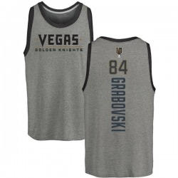 Men's Mikhail Grabovski Vegas Golden Knights Backer Tri-Blend Tank - Heathered Gray