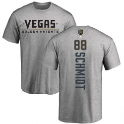Men's Nate Schmidt Vegas Golden Knights Backer T-Shirt - Heathered Gray