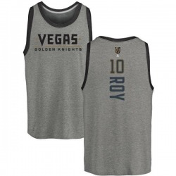 Men's Nicolas Roy Vegas Golden Knights Backer Tri-Blend Tank - Heathered Gray