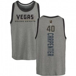 Men's Ryan Carpenter Vegas Golden Knights Backer Tri-Blend Tank - Heathered Gray