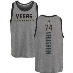 Men's Scooter Vaughan Vegas Golden Knights Backer Tri-Blend Tank - Heathered Gray