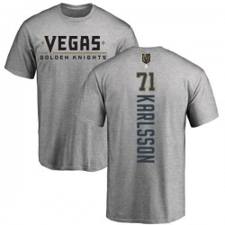 Men's William Karlsson Vegas Golden Knights Backer T-Shirt - Heathered Gray