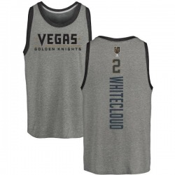 Men's Zach Whitecloud Vegas Golden Knights Backer Tri-Blend Tank - Heathered Gray