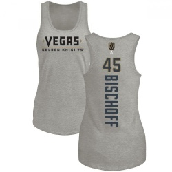 Women's Jake Bischoff Vegas Golden Knights Backer Tri-Blend Tank - Heathered Gray