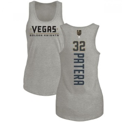 Women's Jiri Patera Vegas Golden Knights Backer Tri-Blend Tank - Heathered Gray