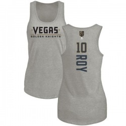 Women's Nicolas Roy Vegas Golden Knights Backer Tri-Blend Tank - Heathered Gray