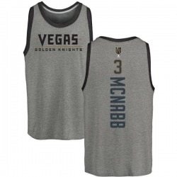 Youth Brayden McNabb Vegas Golden Knights Backer Tri-Blend Tank - Heathered Gray