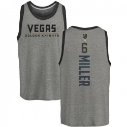 Youth Colin Miller Vegas Golden Knights Backer Tri-Blend Tank - Heathered Gray