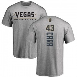 Youth Daniel Carr Vegas Golden Knights Backer T-Shirt - Heathered Gray