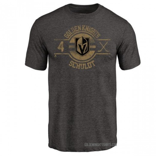 Youth Jimmy Schuldt Vegas Golden Knights Insignia Tri-Blend T-Shirt - Black