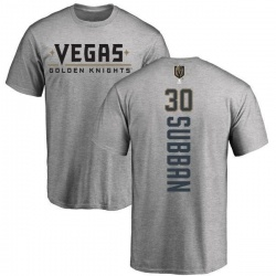 Youth Malcolm Subban Vegas Golden Knights Backer T-Shirt - Heathered Gray