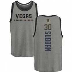 Youth Malcolm Subban Vegas Golden Knights Backer Tri-Blend Tank - Heathered Gray