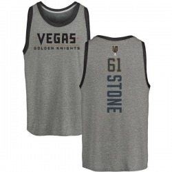 Youth Mark Stone Vegas Golden Knights Backer Tri-Blend Tank - Heathered Gray
