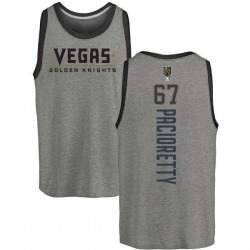 Youth Max Pacioretty Vegas Golden Knights Backer Tri-Blend Tank - Heathered Gray