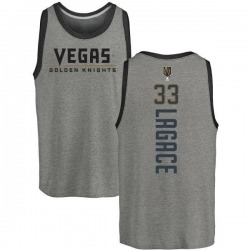 Youth Maxime Lagace Vegas Golden Knights Backer Tri-Blend Tank - Heathered Gray