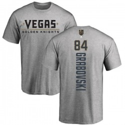 Youth Mikhail Grabovski Vegas Golden Knights Backer T-Shirt - Heathered Gray