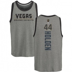 Youth Nick Holden Vegas Golden Knights Backer Tri-Blend Tank - Heathered Gray