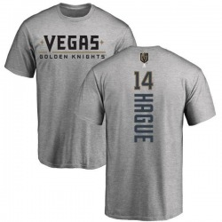 Youth Nicolas Hague Vegas Golden Knights Backer T-Shirt - Heathered Gray