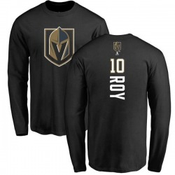 Youth Nicolas Roy Vegas Golden Knights Backer T-Shirt - Black