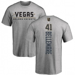 Youth Pierre-Edouard Bellemare Vegas Golden Knights Backer T-Shirt - Heathered Gray