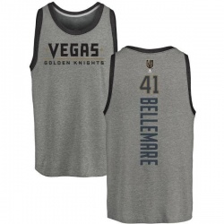 Youth Pierre-Edouard Bellemare Vegas Golden Knights Backer Tri-Blend Tank - Heathered Gray